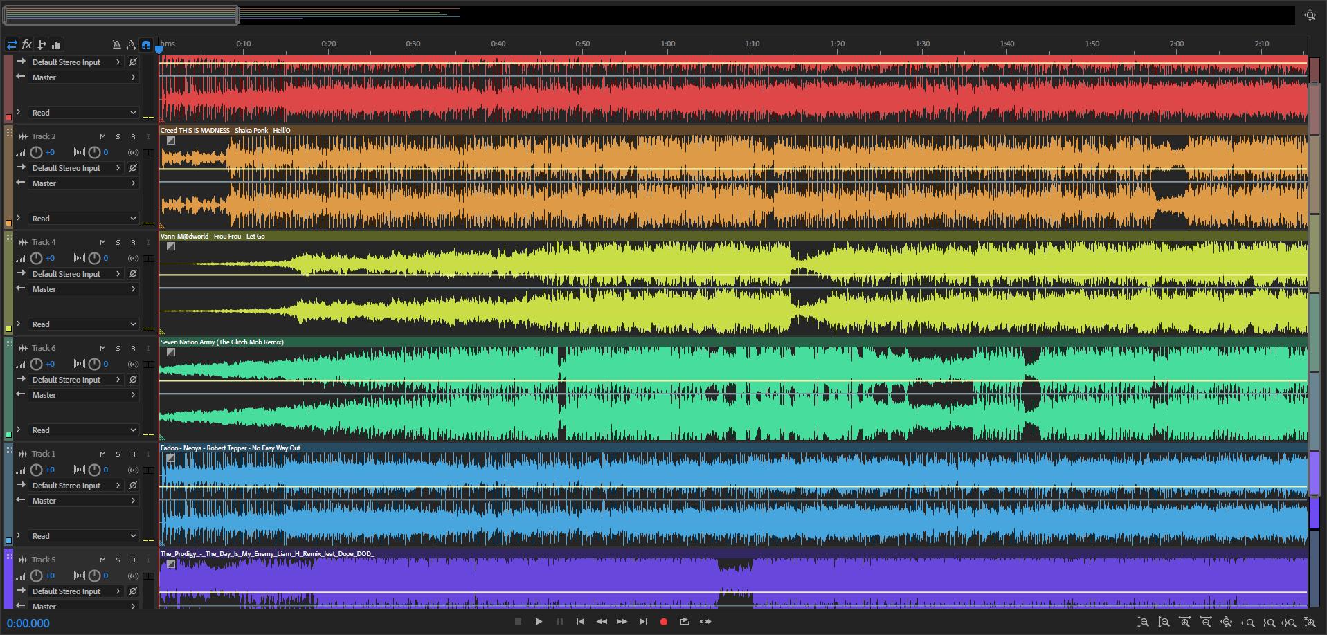 Audio Wave Colour