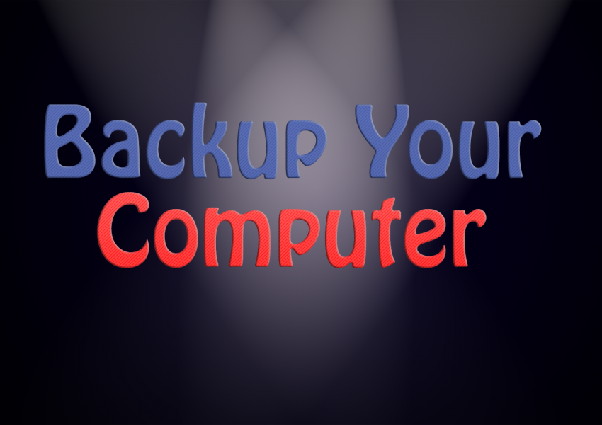 Backup Your Computer