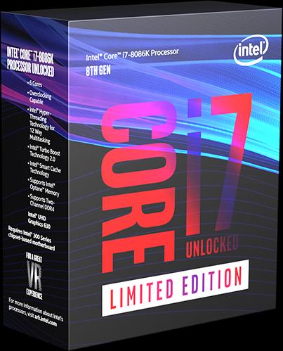8th Gen Intel® Core™ i7-8086k Limited Edition processor